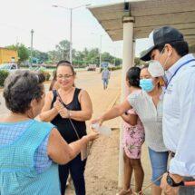 """Gobierno de Tuxtepec y comunidad de Benemérito Juárez participan en """"Tequio por la Salud"""""""