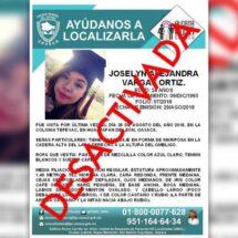 Detienen a asesino de Yoselyn Alejandra, joven desaparecida en Huajuapan de León, en 2018