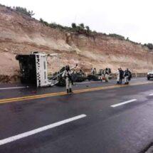 Dos muertos y varios heridos en al menos cuatro accidentes en Oaxaca