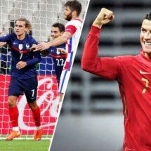 Francia se cargó de nuevo a Croacia… Y Cristiano rebasó los 100 goles con Portugal