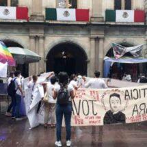 Llega protesta de pobladores de Jamiltepec para exigir justicia por Jovani
