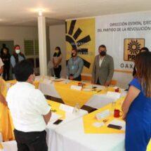 PRD Oaxaca continúa con acciones de fortalecimiento institucional