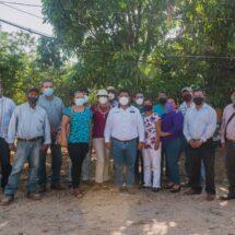 Presidentes de colonias manifiestan su respaldo al Presidente Noé Ramírez