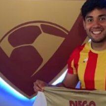 Diego Franco, el único jugador mexicano en África