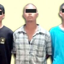 Capturan infraganti a 3 ladrones de auto
