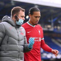 Virgil van Dijk rompe silencio tras grave lesión: «Estoy enfocado en mi recuperación»