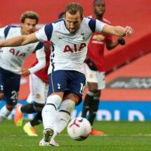 Tottenham en escandalosa goleada en Old Trafford