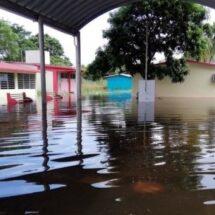 Reporta Tabasco 418 escuelas inundadas
