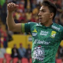 Mena, el Ángel del gol en León
