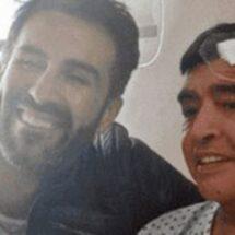 Médico de Maradona comparte foto con él, previo al alta médica