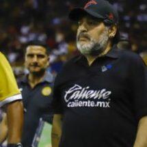 Maradona y su paso por el futbol mexicano