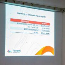 Cabildo de Tuxtepec reasigna más de 7 millones de peso para pavimentar  camino La Herradura