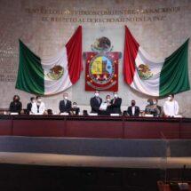 Entrega Poder Ejecutivo de Oaxaca Cuarto Informe a la LXIV Legislatura del Congreso del Estado