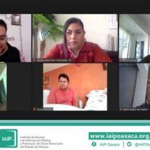 """Con éxito IAIPO y APO A.C. realizaron curso """"datos personales en posesión de partidos políticos y el proceso electoral 2021""""."""