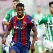 ¡Malas noticias en Barcelona! Ansu Fati se rompió el menisco y será baja varias semanas