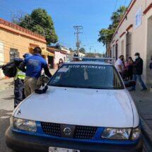Murió en el taxi y lo llevaron a las oficinas de la Fiscalía de Oaxaca