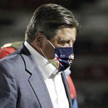 Miguel Herrera no ha podido ganar la Concachampions