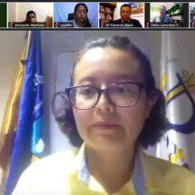 Daniela Ramos, Directora de la Preparatoria 3 de la UABJO, rindió su último informe