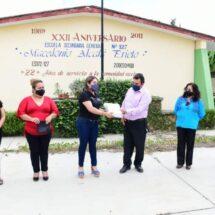 Entrega IEEPO material didáctico del Programa Nacional de Convivencia Escolar