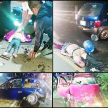 Policía causa mortal accidente