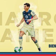OFICIAL: Mauro Lainez, nuevo jugador del América y su hermano Diego le dio la bienvenida