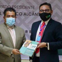 Recibe Congreso Informe del Tribunal de Justicia Administrativa de Oaxaca