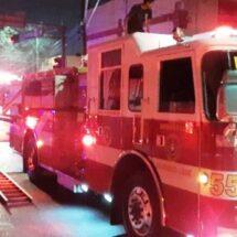 Causa fuga de gas en tanque estacionario flamazo en el centro de Monterrey