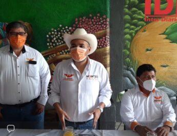 Héctor Montes inicia campaña rumbo a la diputación federal