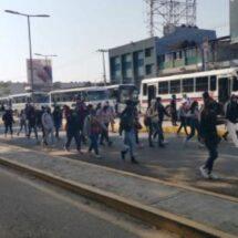 Normalistas se alistan para marchar en Oaxaca