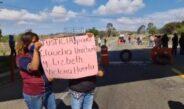 Por detención de la presidenta de Nochixtlán bloquean la supercarretera.