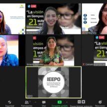 Promueve IEEPO cuidado de la salud visual en la comunidad escolar