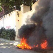 Integrantes de la Sección 22 impiden acto de Ulises Ruiz en Oaxaca