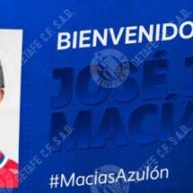 Getafe anuncia el fichaje de José Juan Macías