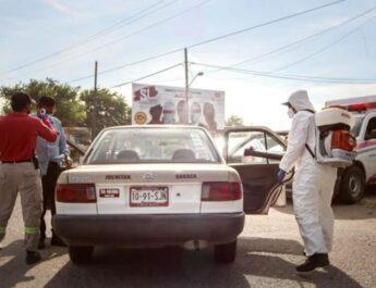 Juchitán vuelve a semáforo rojo, para contener la tercera ola de contagios de COVID-19