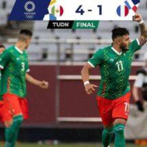 México 4-1 Francia, Juegos Olímpicos: Video, goles y resumen