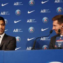 """El 'dardo' de Al-Khelaifi a Mbappé frente a Messi: """"Ya no tiene excusa"""""""