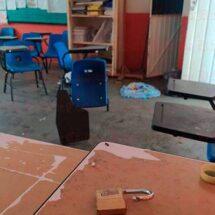 Algunas escuelas saqueadas no podrán ser intervenidas por la SEV