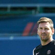 Messi no está convocado por el PSG para duelo contra Strasbourg
