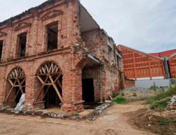 Palacio de Juchitán quedará totalmente rehabilitado para el 2022, afirman autoridades