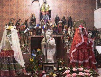 La Santa Muerte solo tiene mala fama: ministro